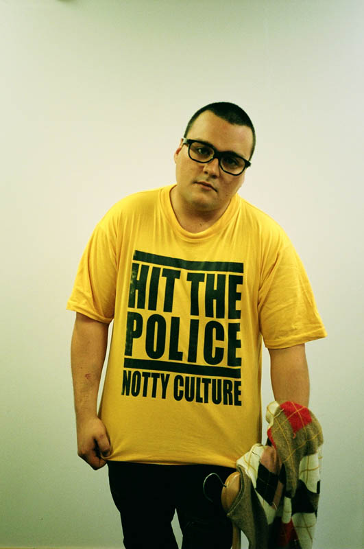 charlie sloth-hi the police